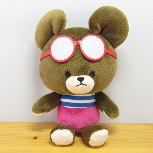 Jackie Soft Bean Doll Plush Summer Sunglasses the bears' school Japan