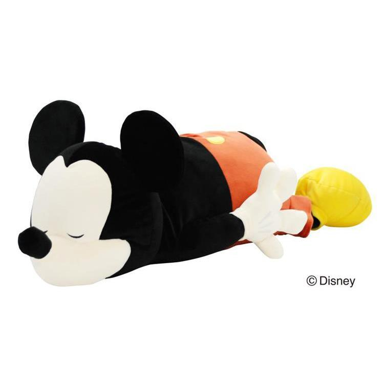 Mickey & Minnie Body Pillow L Color Disney Japan