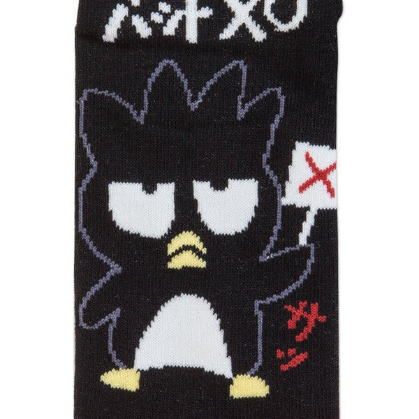 Bad Badtz-Maru Sneaker Socks Cross Sanrio Japan