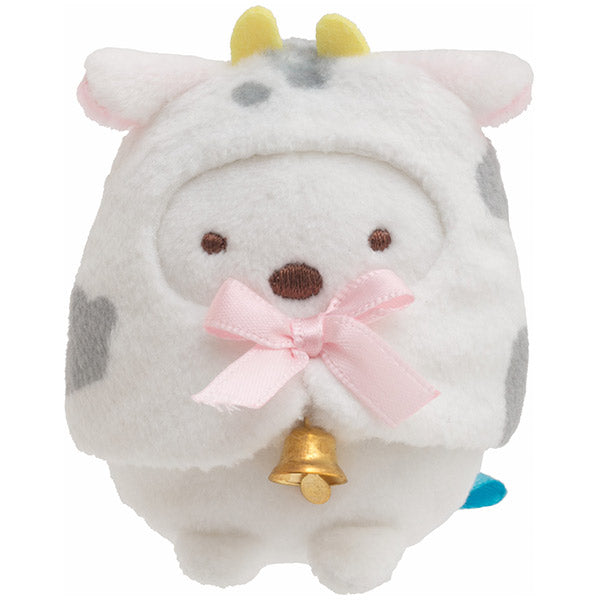 Sumikko Gurashi Shirokuma Bear mini Tenori Plush Doll San-X Japan New Year 2021
