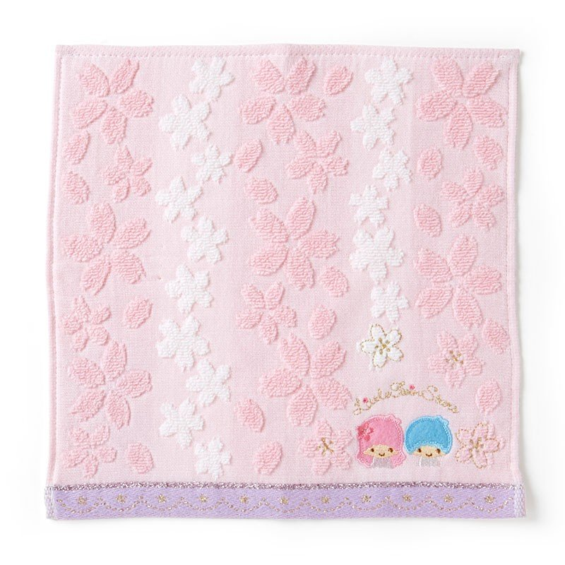 Little Twin Stars Kiki Lala mini Towel Sakura Sanrio Japan 2020