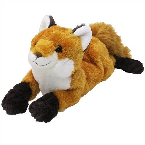 Hizakitsune Knee Fox Plush Doll M Brown Sunlemon Japan