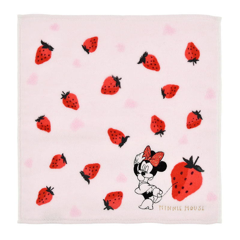 Minnie mini Towel Strawberry Ichigo Lifestyle Disney Store Japan