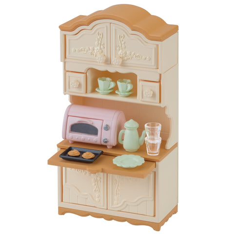 Furniture Cupboard Toaster Set Ka-419 Sylvanian Families Japan EPOCh