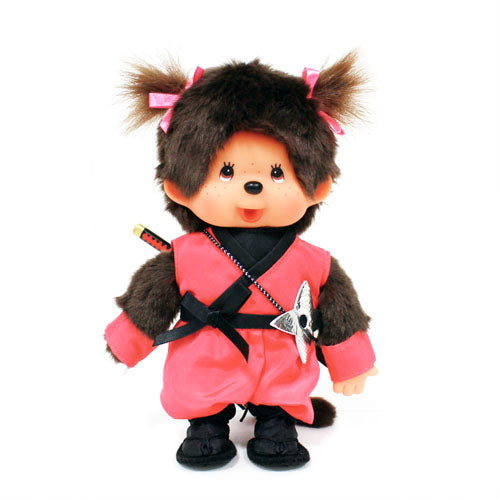 Monchhichi Doll Girl Ninja Japan