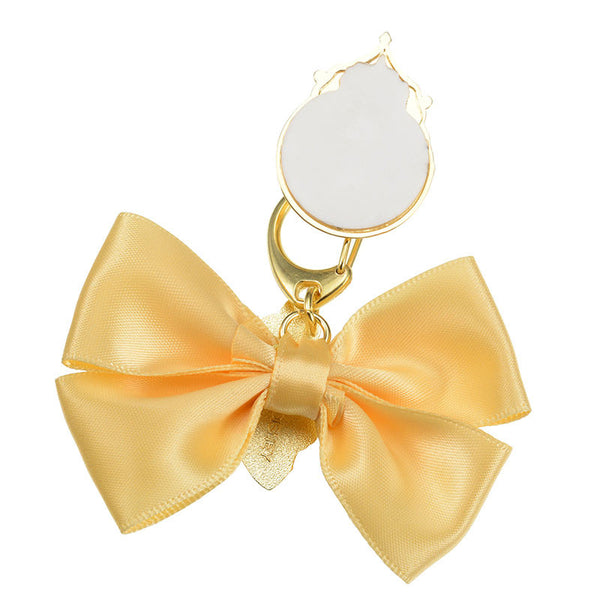 Belle Charm for Smartphone Case Ribbon charming Disney Store Japan Beauty Beast