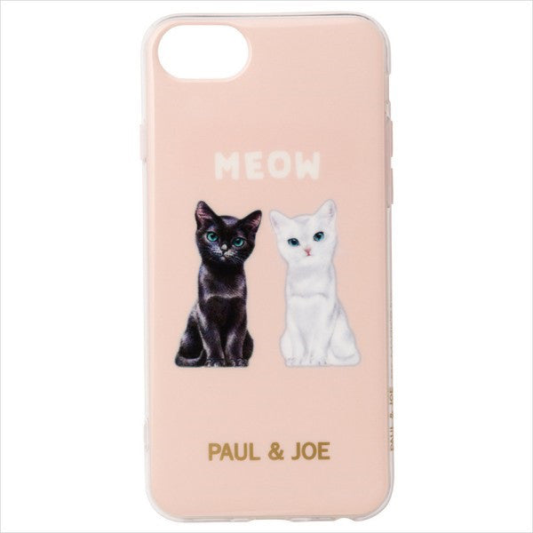 iPhone 6 6s 7 8 Case Cover Chess Cat Apricot Pink PAUL & JOE Japan