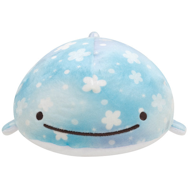 Jinbe San Super Soft Mochi Plush Doll S with Pearl Color Dolphin San-X Japan