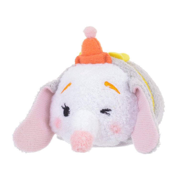 Dumbo Clown Tsum Tsum Plush Doll mini S Disney Store Japan