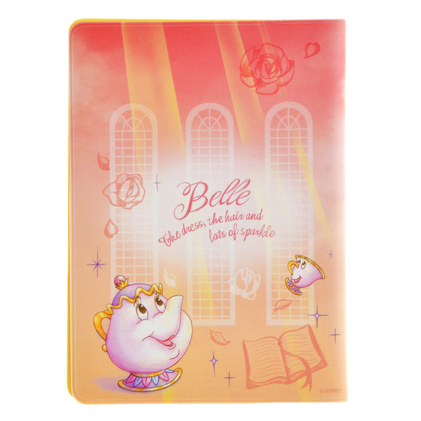 Belle Passport Cover Water Color Disney Store Japan Beauty and the Beast