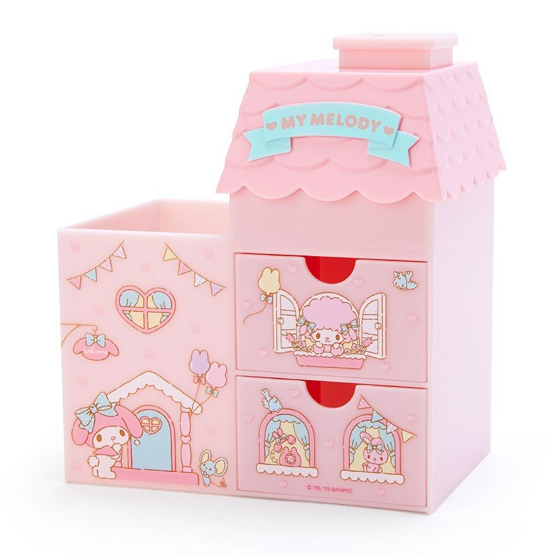 My Melody Plastic Chest House shape Sanrio Japan 2019