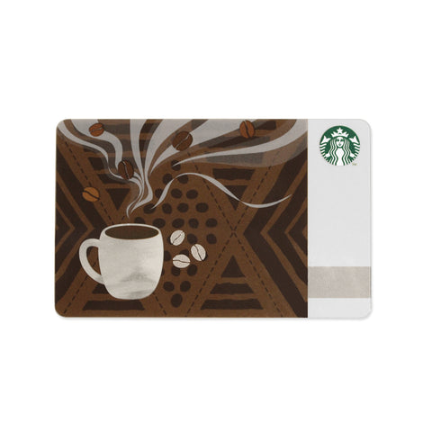 Starbucks Coffee Gift Card Japan Aroma 2015 June