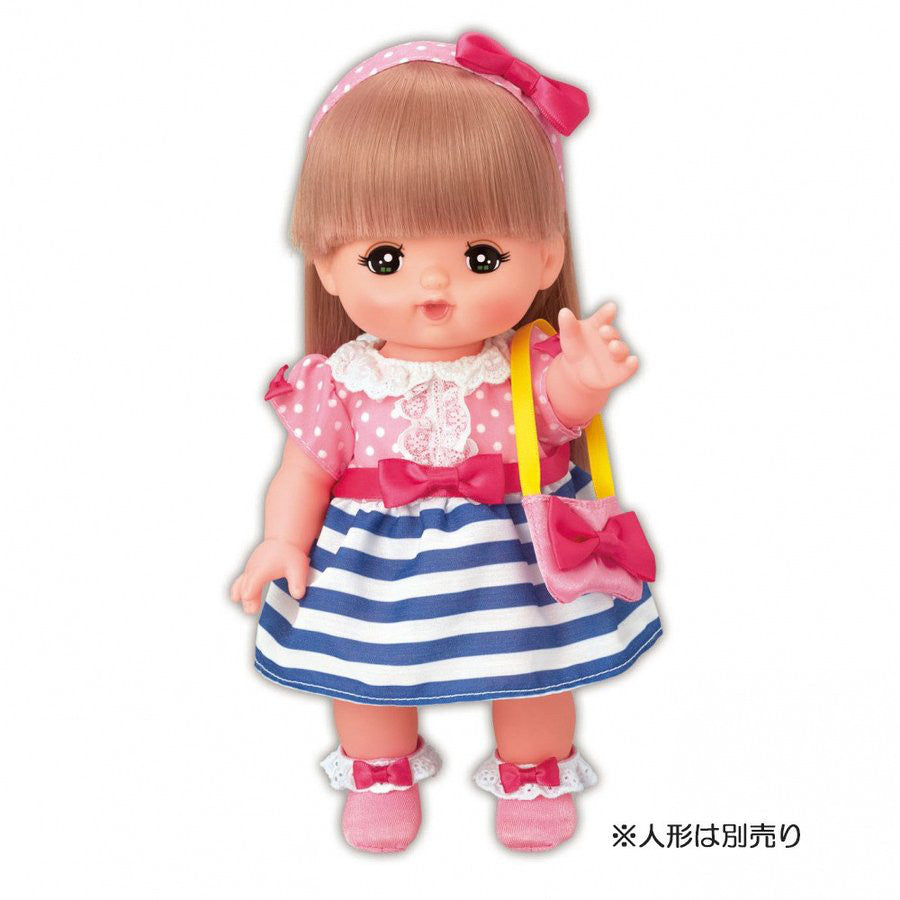 Costume for Mell Chan Blouse Dress Pilot Japan Pretend Play Toys