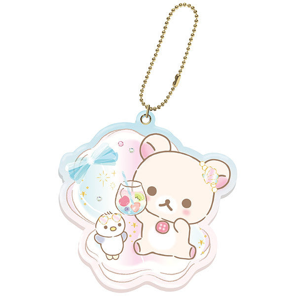 Slide Mirror Korilakkuma Vacation Shell San-X Japan Rilakkuma