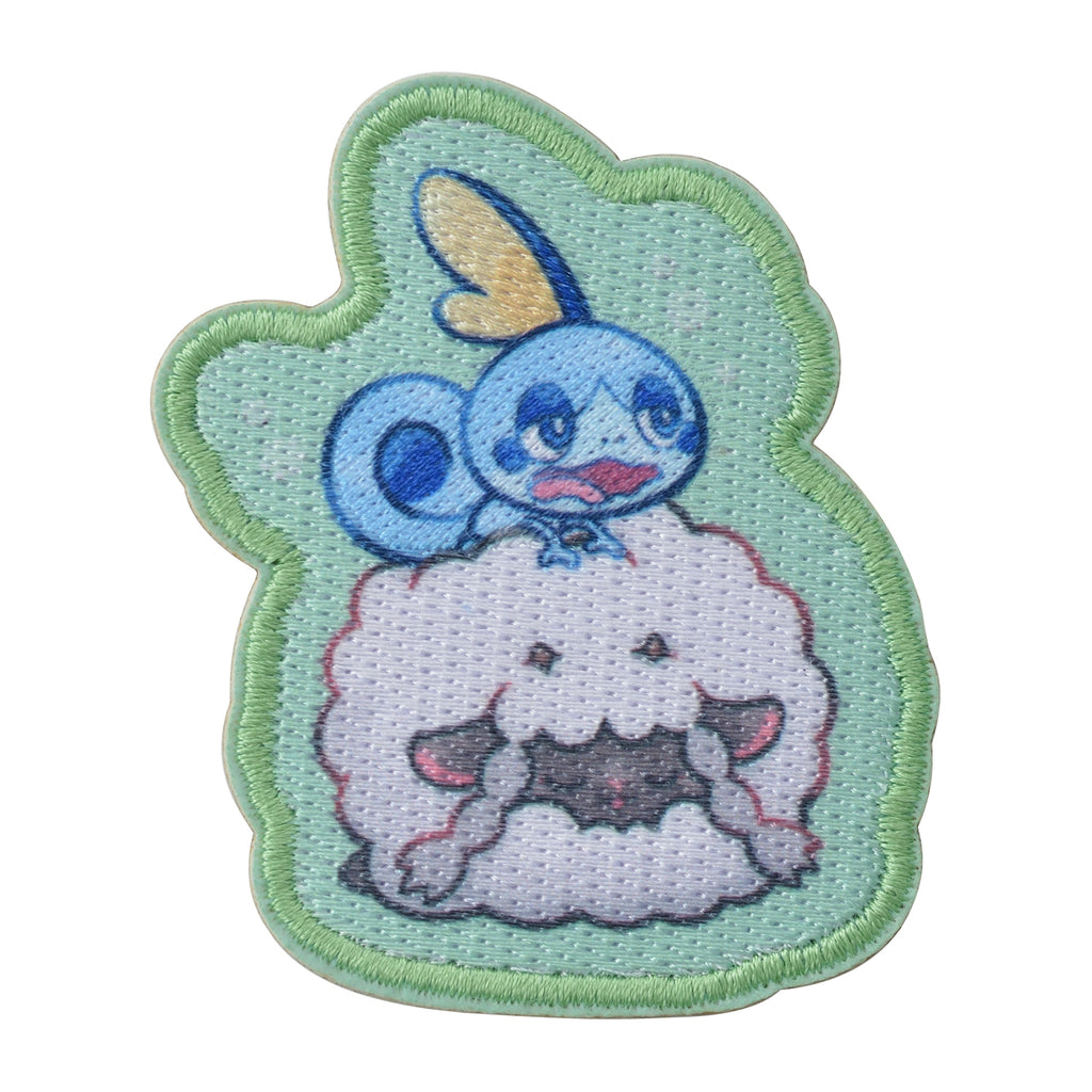 Sobble Messon & Wooloo Wooluu Emblem Sticker Snorlax Yawn Pokemon Center Japan