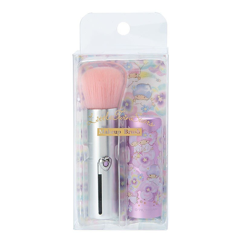 Little Twin Stars Kiki Lala Makeup Brush Flower Cosmetics Sanrio Japan