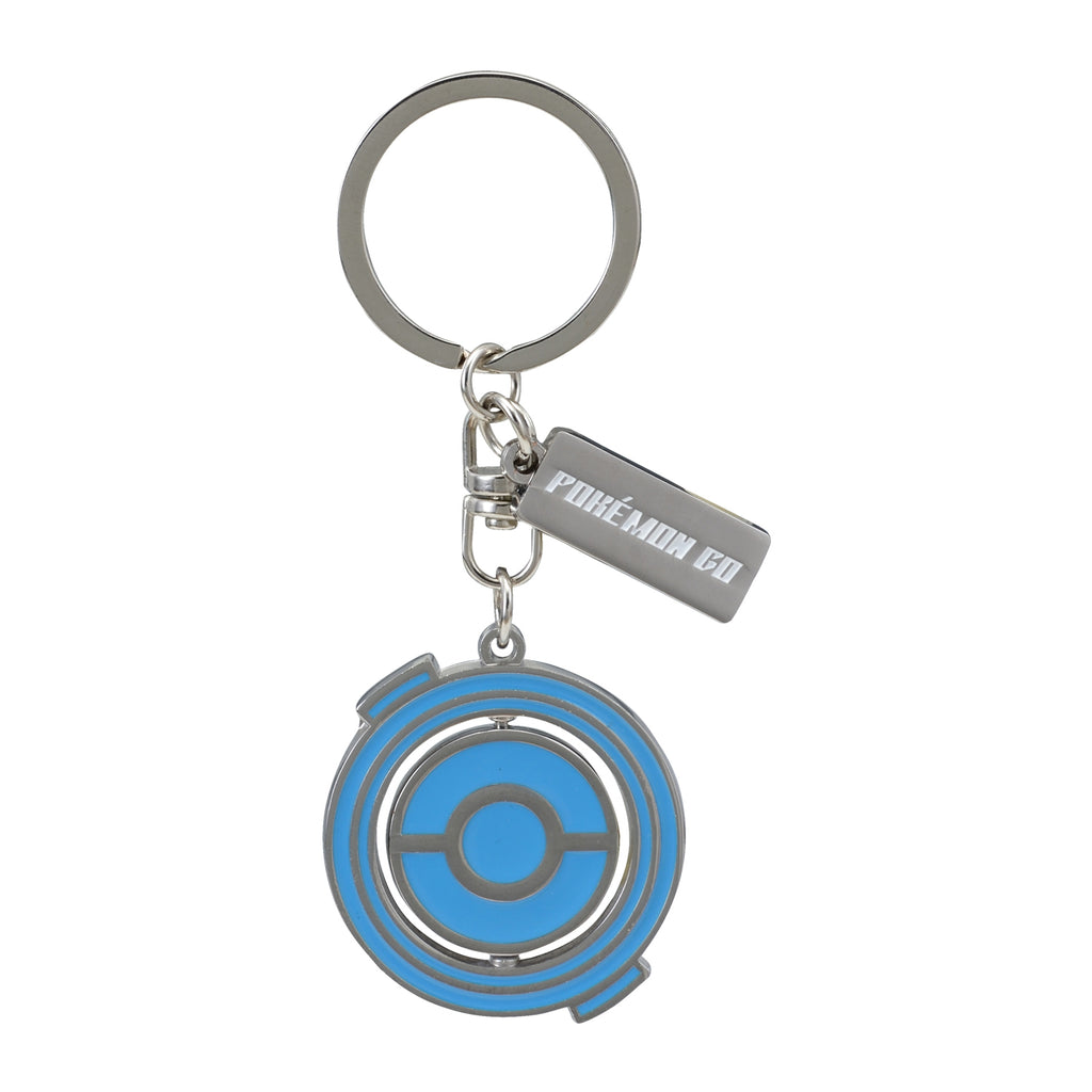 Rotating Keychain Key Holder Pokemon GO Center Japan Original