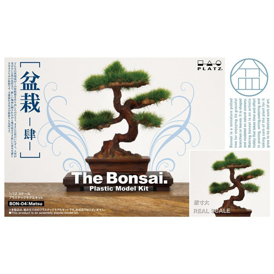1/12 The Bonsai 4 Matsu Plastic Model Kit BON-04 Platz Japan