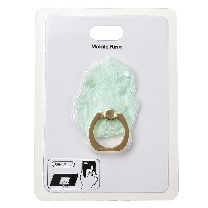 Little Mermaid Ariel Smartphone Ring Shell style Disney Store Japan