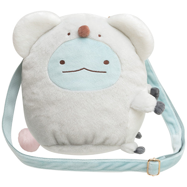 Sumikko Gurashi Tokage Lizard Plush Shoulder Pouch Animal Park San-X Japan 2021