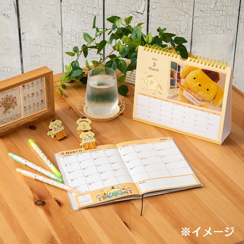 Pom Pom Purin 2021 Schedule Book B6 Monthly Sanrio Japan