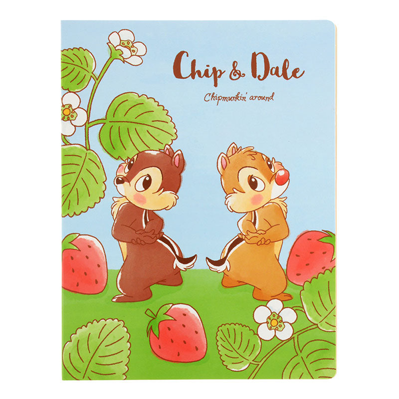 Chip & Dale Sticky Memo L Set Foodie Disney Store Japan