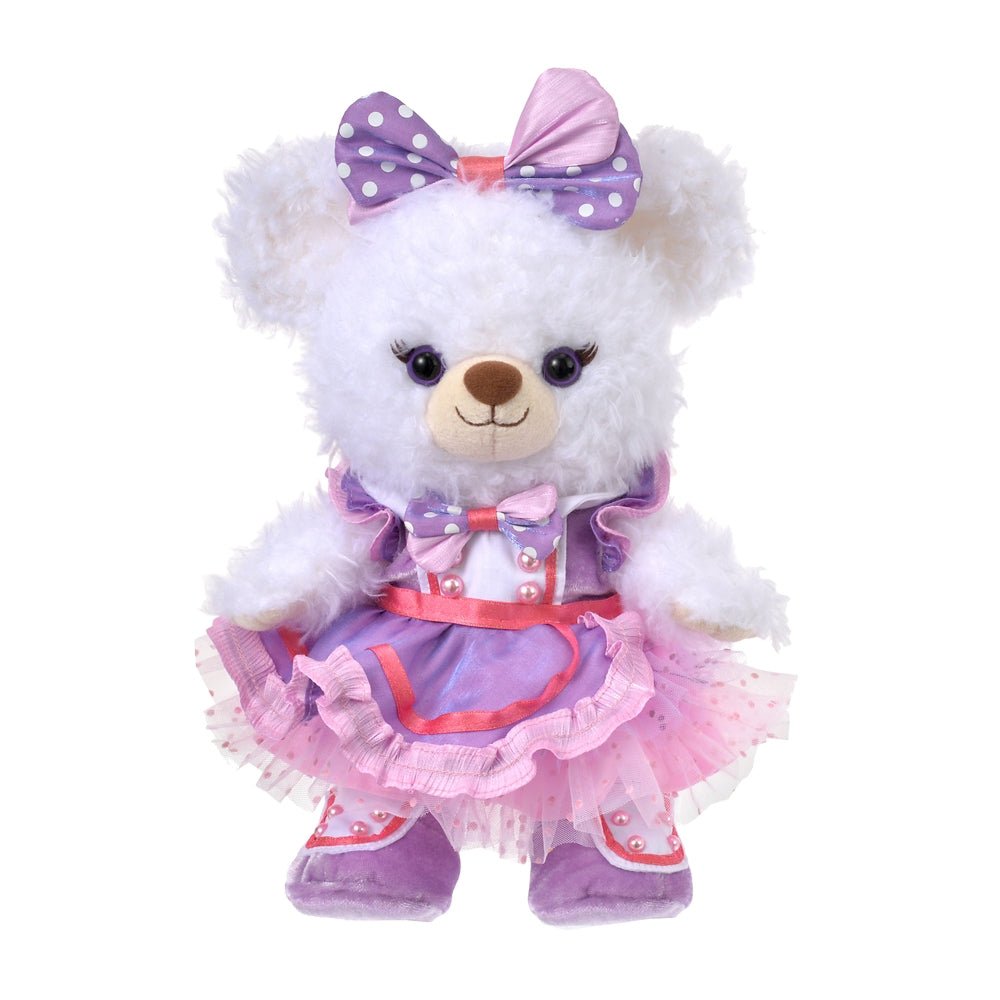 Costume for Plush Doll S Dress Purple UniBEARsity 10th Disney Store Japan