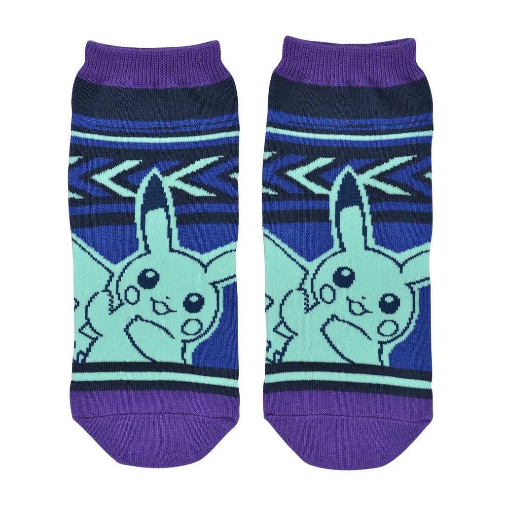 Pikachu drawing Short Socks 25~27cm PL Pokemon Center Japan original