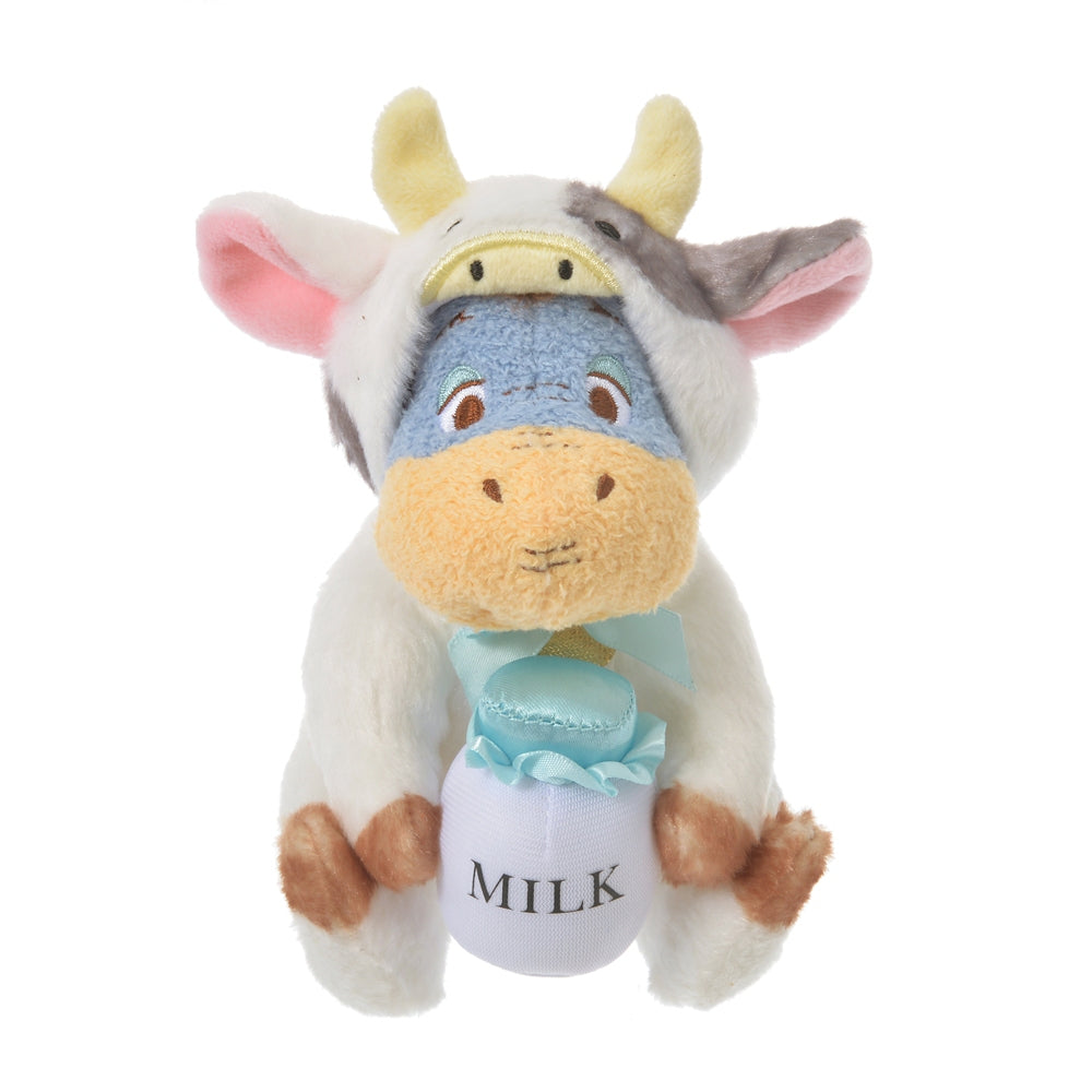 Eeyore Plush Doll Eto Zodiac 2021 Cow Disney Store Japan New Year Winnie Pooh
