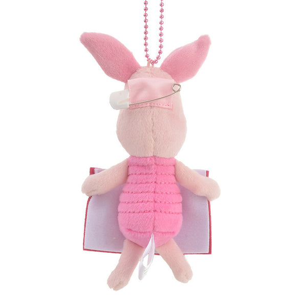 Piglet Plush Keychain POOH'S HOUSE Disney Store Japan Winnie the Pooh