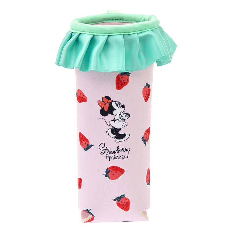 Minnie PET Bottle Pouch Strawberry Ichigo Lifestyle Disney Store Japan