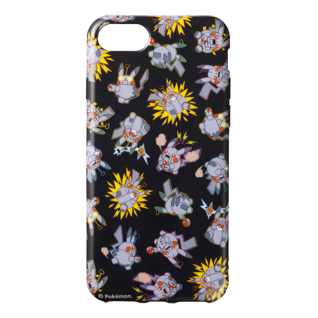Robot Pikachu iPhone 6 6s 7 8 Case Cover Soft Science Man Pokemon Center Japan