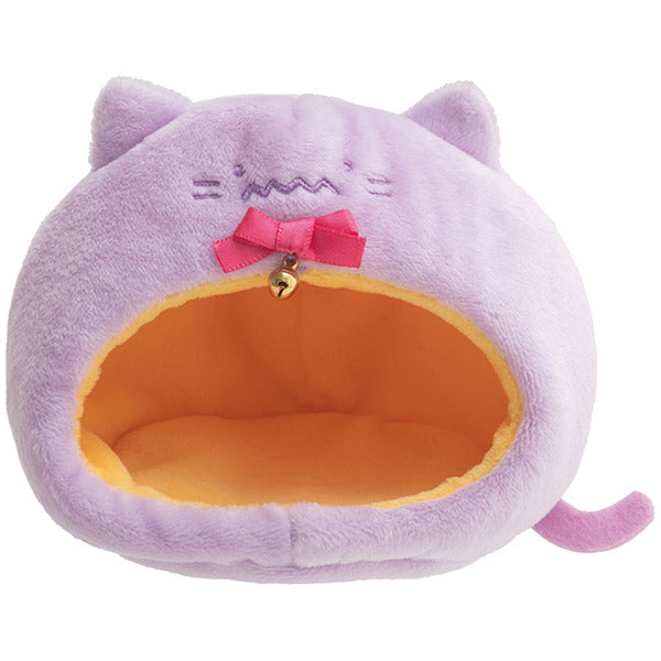 Sumikko Gurashi Purple Cat House mini Tenori Plush Doll San-X Japan Halloween