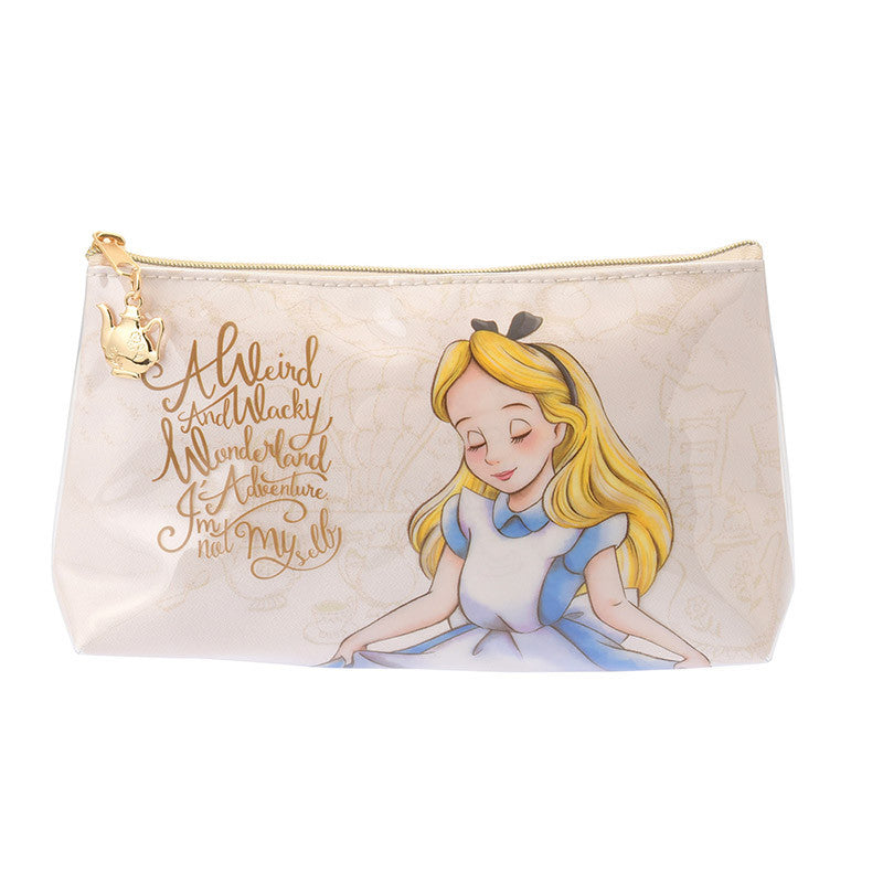Alice in Wonderland Pen Case Pencil Pouch Feminine Disney Store Japan