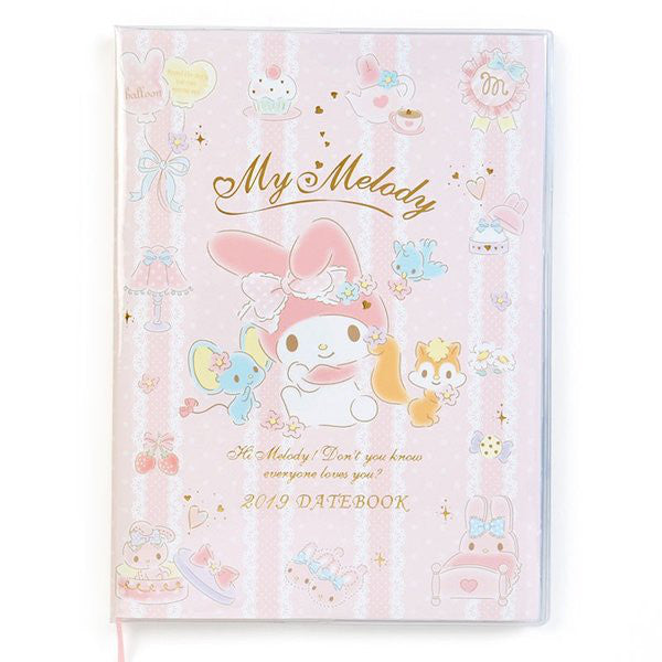 My Melody 2019 Schedule Book A5 Monthly Sanrio Japan