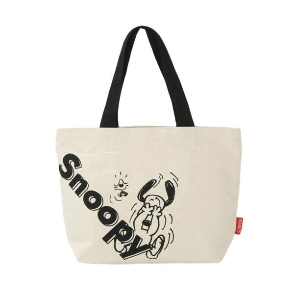 Snoopy mini Tote Bag JUMP Classic PEANUTS Japan