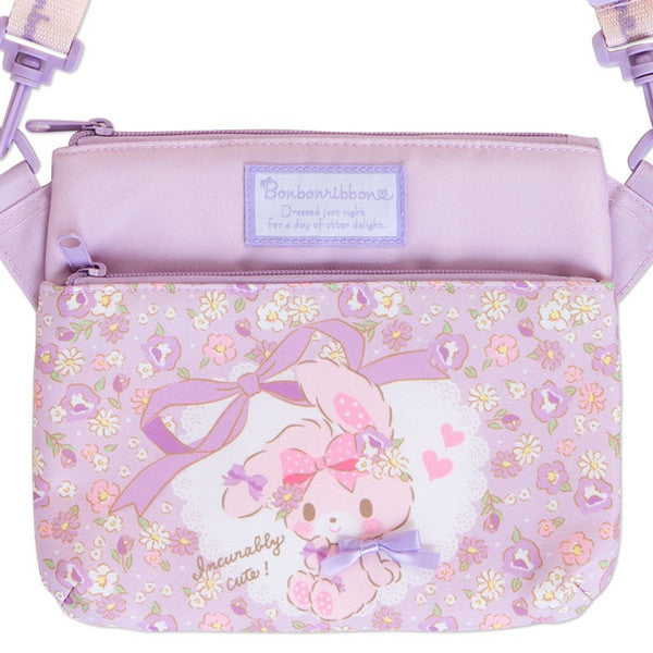Bonbonribbon Kids Shoulder Bag Ribbon Purple Sanrio Japan