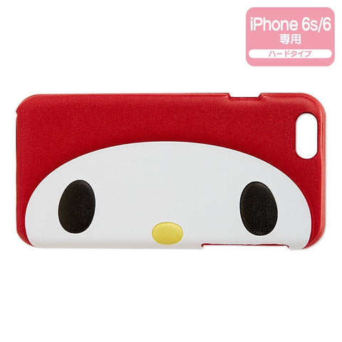 My Melody iPhone 6 6s Hard Case Cover Face Sanrio Japan
