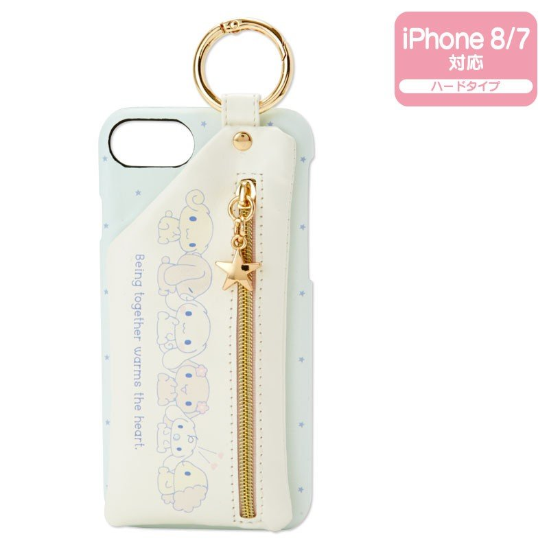Cinnamoroll iPhone 7 8 Case Cover with Pouch Sanrio Japan