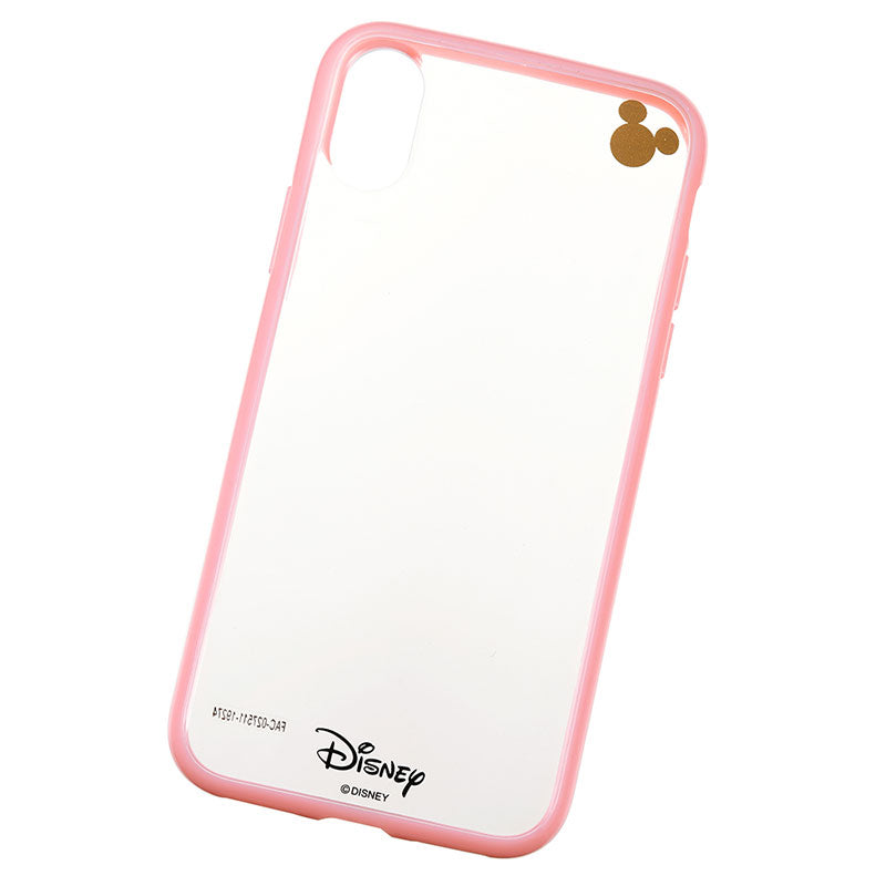 Mickey iPhone X / XS Case Cover Pink D.I.Wow! Disney Store Japan