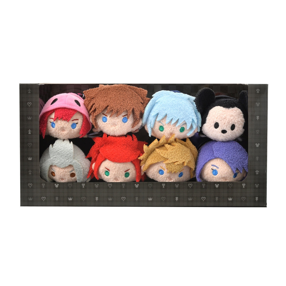 Kingdom Hearts III Tsum Tsum Plush Doll Box Set Disney Store Japan