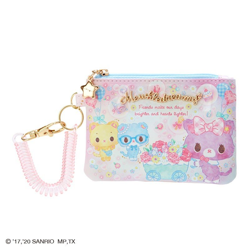 Mewkledreamy Pass Case Glitter Soap Bubble Party Sanrio Japan