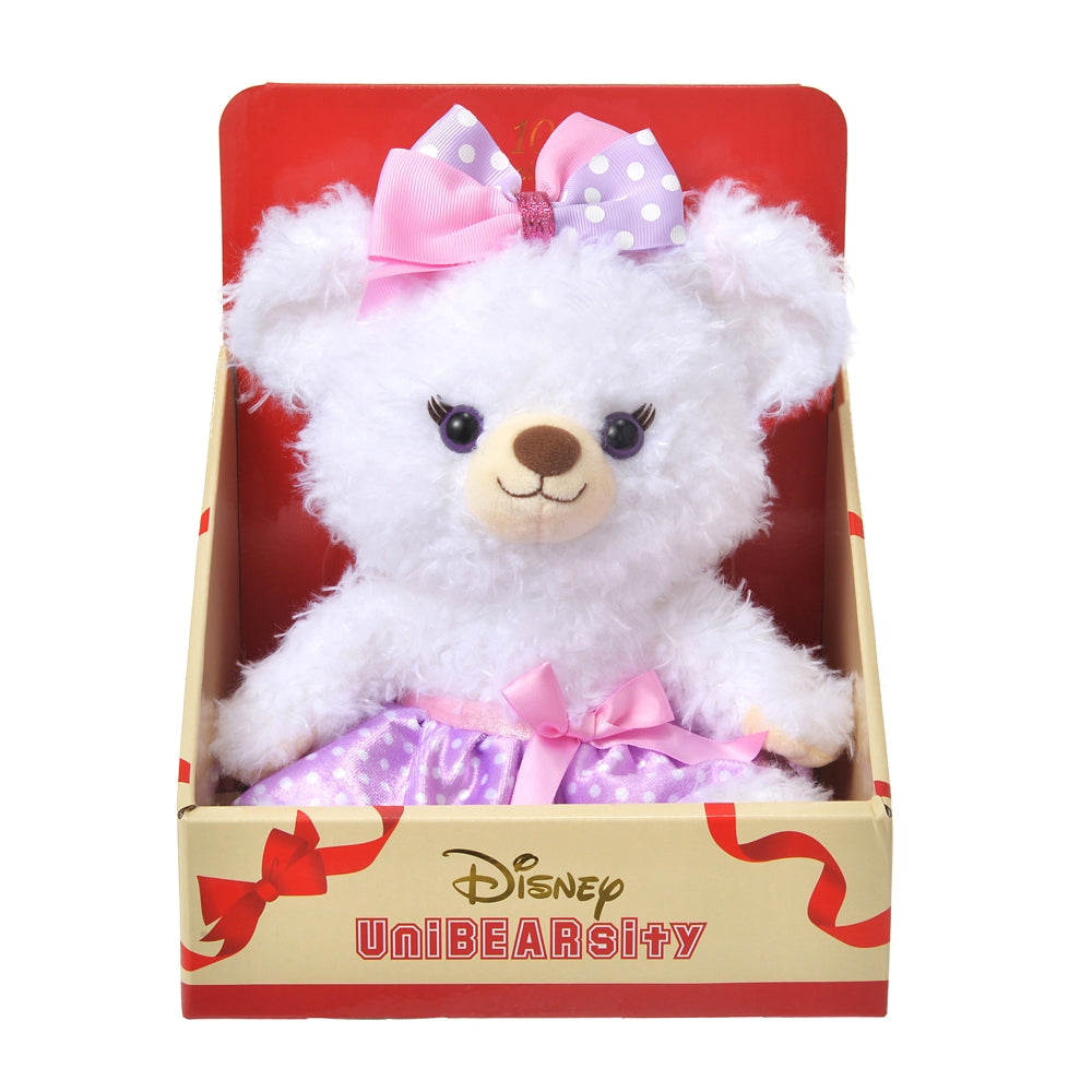 Puffy Plush Doll S UniBEARsity 10th Anniversary Disney Store Japan