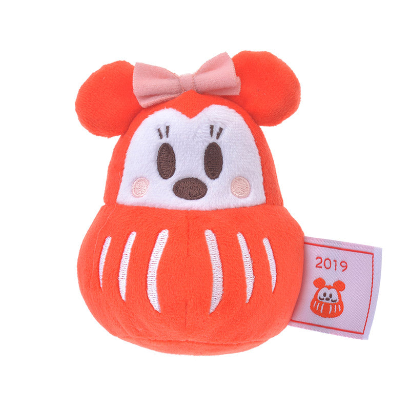 Minnie Plush Doll S Daruma Stowa Disney Store Japan New Year 2019