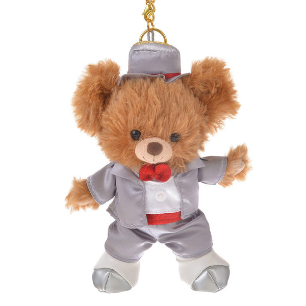 UniBEARsity Mocha Plush Keychain Top Hat 7th Anniversary Expo 2018 Disney Japan