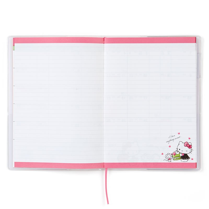 Hello Kitty 2021 Schedule Book B6 Monthly Sanrio Japan