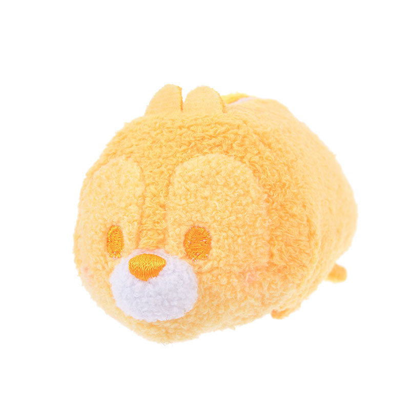 Chip Tsum Tsum Plush Doll mini S Pastel Color Orange Disney Store Japan