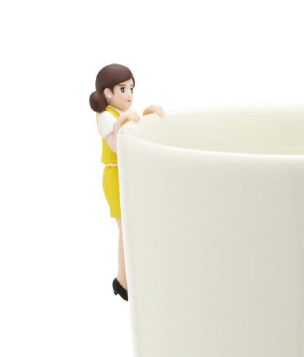 Figure Coppu no Fuchiko LOFT Yellow Caught Cup Edge of the Cup