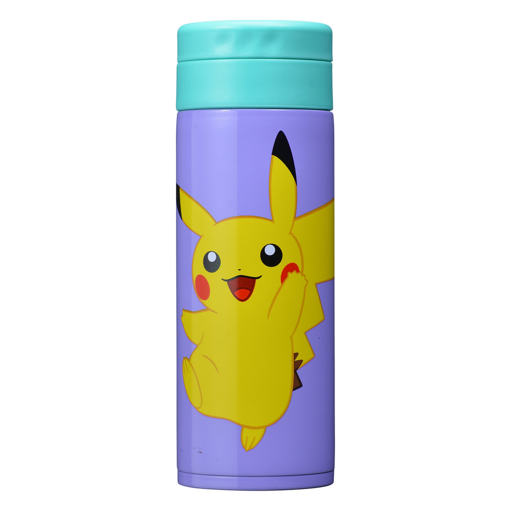 Pikachu Stainless Bottle Pokemon Center Japan Original