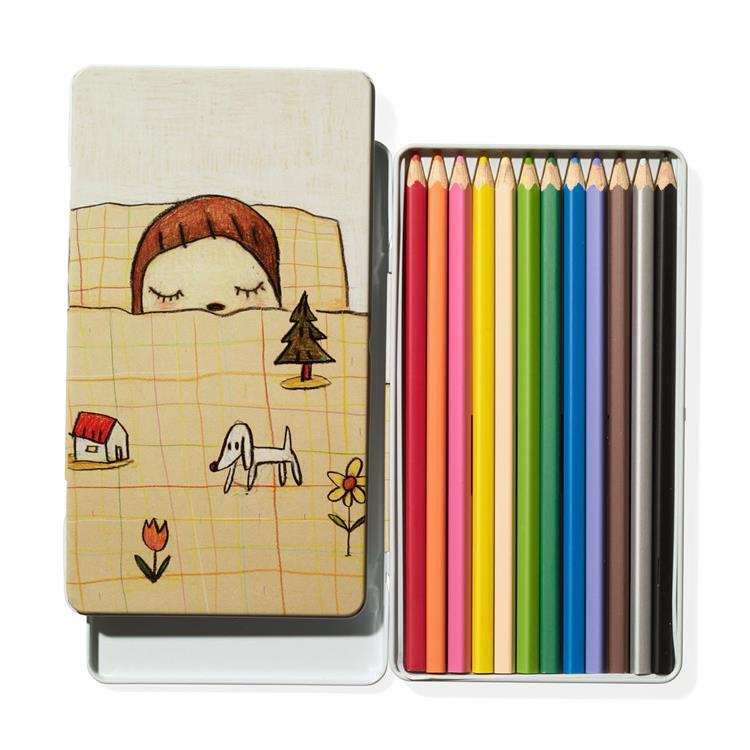 Yoshitomo Nara Colored Pencil 12pcs Japan MoMA